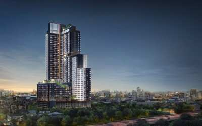 Sales XT Huayiwang Condo The latest luxury condominium from SANSIRI