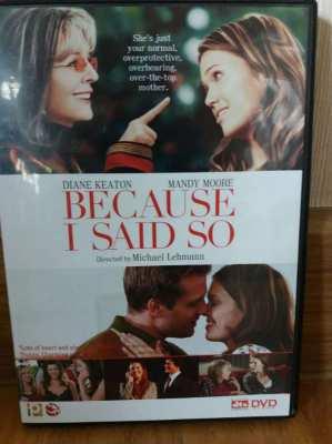 Price Drop Free Shipping Because I Said So Diane Keaton DVD