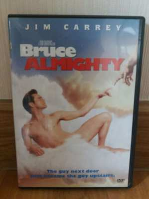 Price Drop Hurry! Free Shipping Bruce Almighty DVD Jim Carey