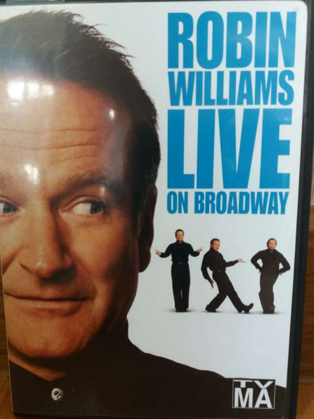 Robin Williams Live on Broadway DVD