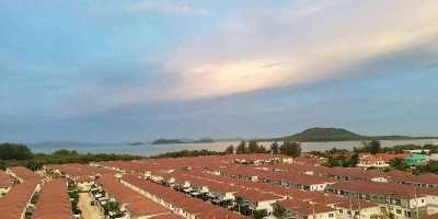 MT-0223 - Condo Supalai Lagoon for rent 6th floor, sea view