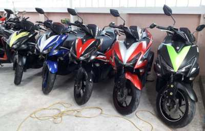 RENT Yamaha Aerox 2500 / Month by 3 month contract