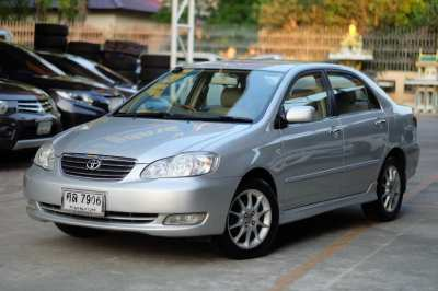 Selling a Toyota Altis 1.8 G top year 05