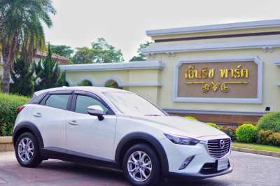 ขาย Mazda รุ่น cx3 2.0 S สี ขาว ปี 2016