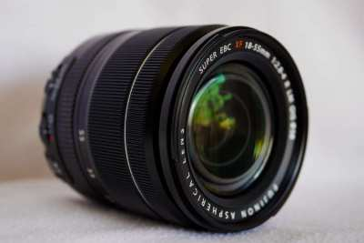 Fuji Fujinon XF 18-55mm F2.8-4 R LM OIS Black Lens