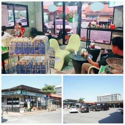 เซ้งร้านกาแฟสด ทำเลดีริมถนนใหญ่ หน้าเทศบาลบางคูวัด จ.ปทุมธานี