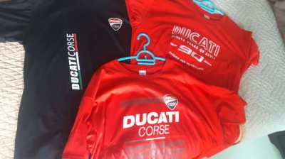 3 x Ducati T shirts (new)
