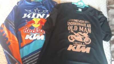 2 x KTM T Shirts