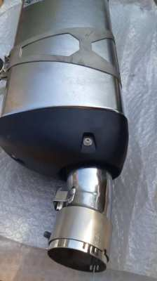Original  exhaust BMW R1200GSA
