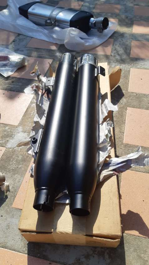 Harley Davidson pipes exhaust