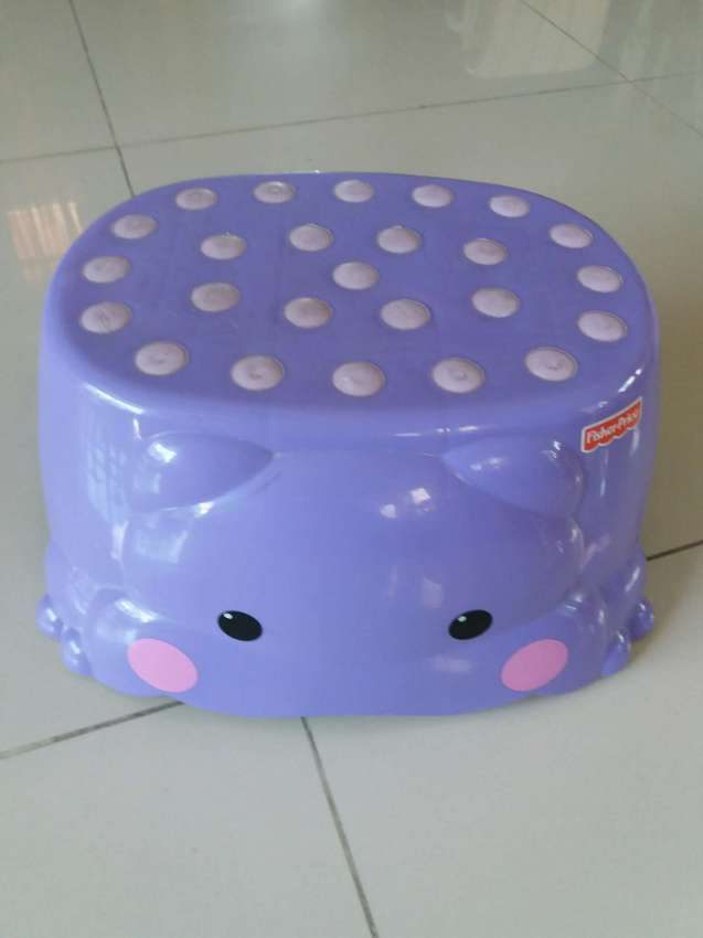 Free Shipping Hippo Step Stool by Fisher Price