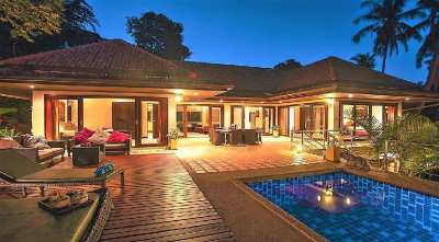 For rent pretty villa 5 bedrooms Chaweng Koh Samui