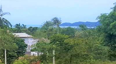For sale land sea view Bangrak Koh Samui