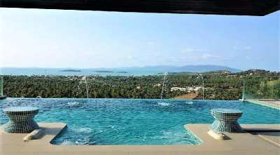 For sale villa sea view in Plai Leam Koh Samui