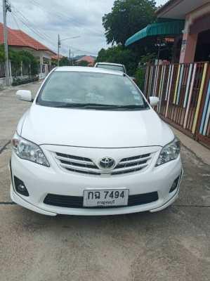 ขายรถเก๋ง TOYOTA Altis สีขาว ปี2012 ปากแพรก เมือง กาญจนบุรี