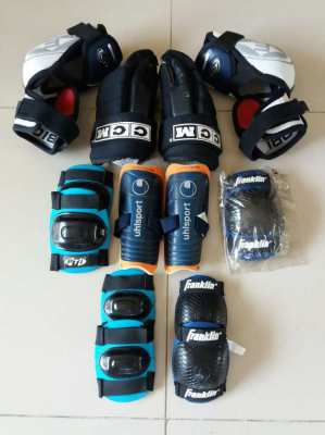 MAKE OFFER NOW!!!! KIDS Knee Pads Shin Guard Hockey Gloves Elbow Pad