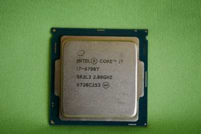 Intel 35W Quad Core CPU SR2L3 i7-6700T 2.8-3.6GHz Socket LGA1151