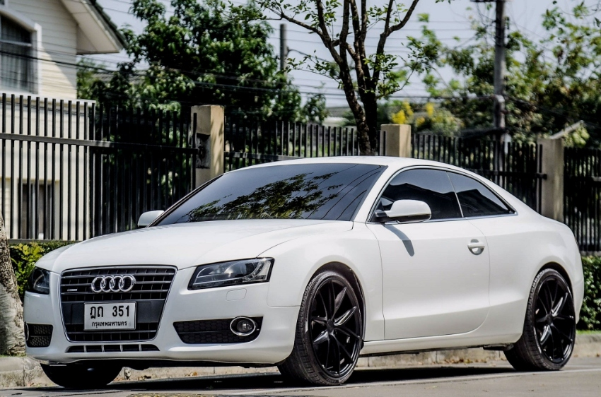 Free down payment for the Audi A5 Coupe Quattro 2.0.