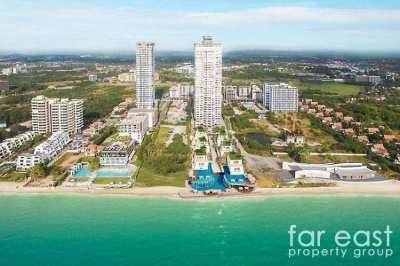 Na Jomtien Beachfront Condo For Rent Or Sale