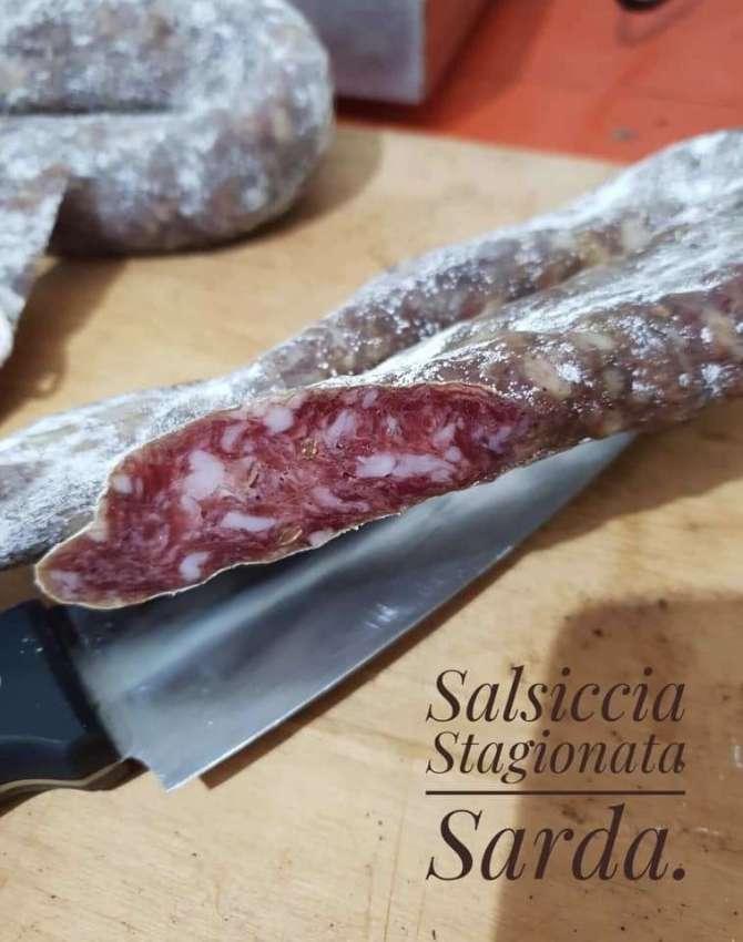 Italian Salume/Salsiccia*Pancetta*BottargaMacinata* Sardegna*