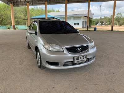 Selling a Vios E sedan 2003, Rayong development
