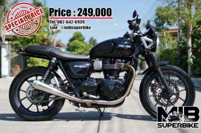 Triumph Street Twin 2016 in very good condition at a bargain price!