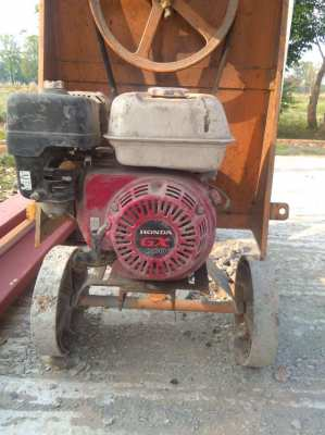 Cement Mixer with  Honda motor