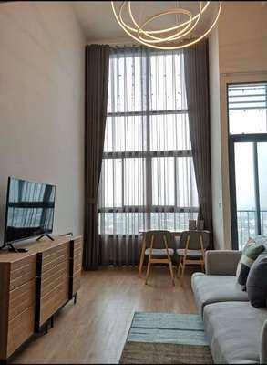 FOR RENT IDEO NEW RAMA 9 / 1 bedroom Duplex / **17,000**