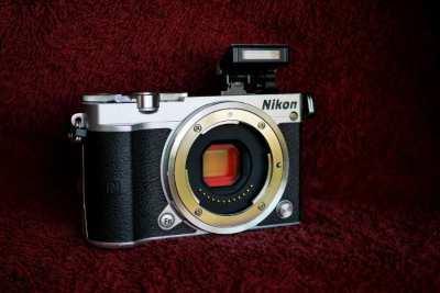 Nikon 1 J5 Digital Wi-Fi NFC Camera Black Silver Body, 4K Video
