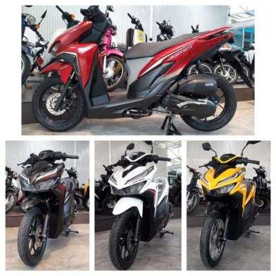 Bangkok Used motorcycle cash/Installment
