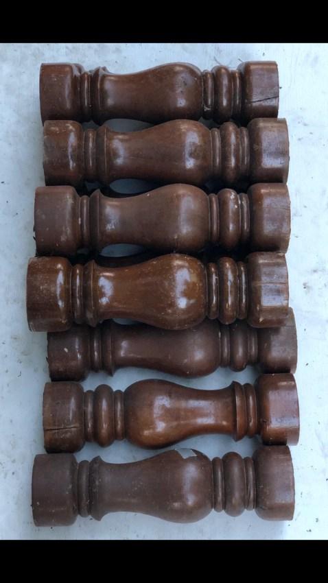 Solid Carved Teak Wood For Sale