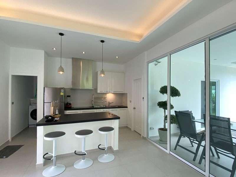 Brand-new boutique 2 bedroom pool home on 350m2 in idyllic Huai Yai