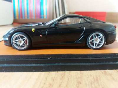 PRICE DROP Ferrari Fiorano Black Model Car in a Case