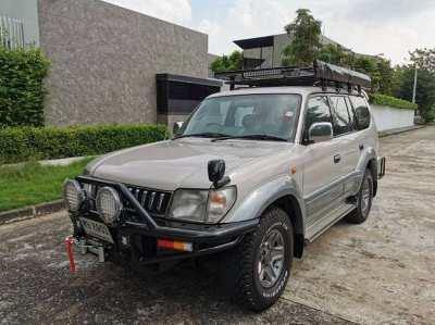 Toyota Land Cruiser PRADO ปี 1997 Ready for using