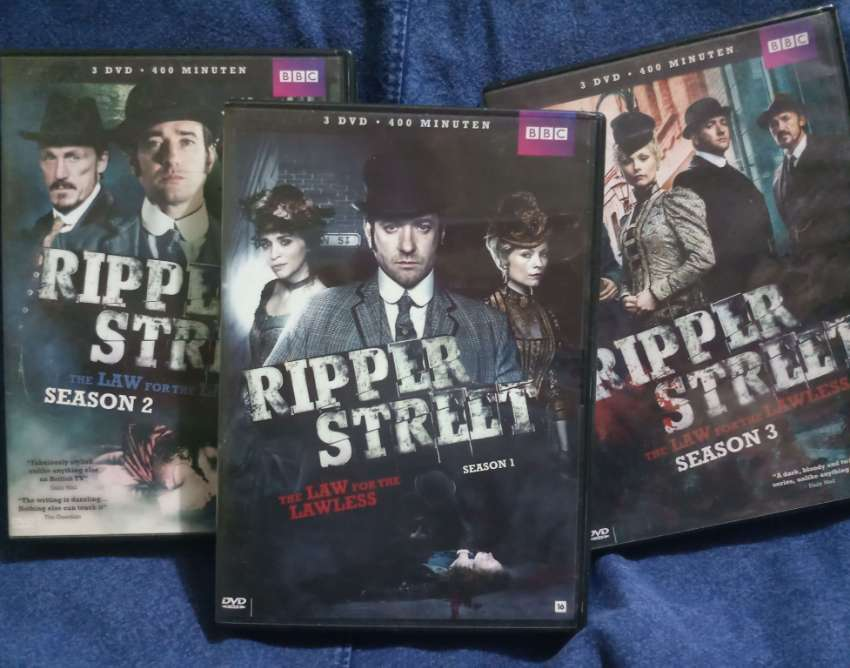 Ripper Street - Boxed sets of the brilliant BBC series (1, 2, and 3)