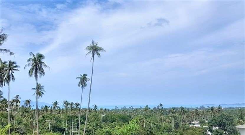 For sale sea view land in Maenam Koh Samui