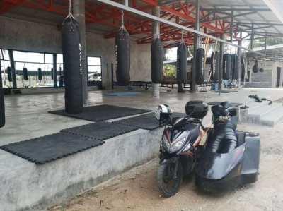 New Muay Thai camp near Pattaya, brasilian jiu jitsu, MMA