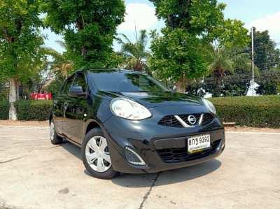 Nissan March 1.2E ปี 17 ใช้น้อย สวยเดิม ขับดี