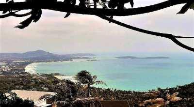 For sale seaview Lands Chaweng Noi Koh Samui 1600sqm - 2400sqm