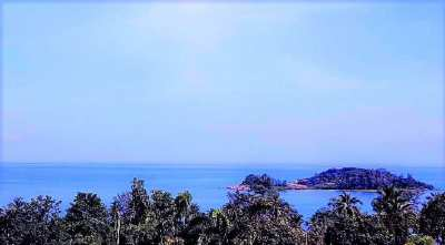 Sea view lands for sale in Choeng Mon Koh Samui 932sqm < 1084 sqm