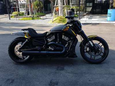 Custom Carbon Harley Davidson V-rod Muscle 2009