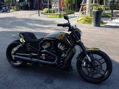 Custom Carbon Harley Davidson V-rod Muscle 2009