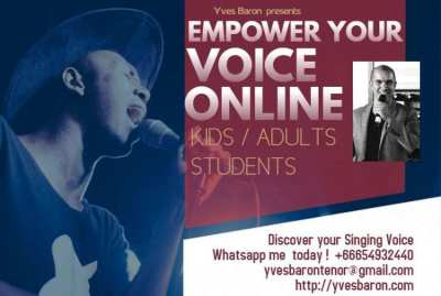DISCOVER AND EMPOWER YOUR SINGING VOICE ONLINE