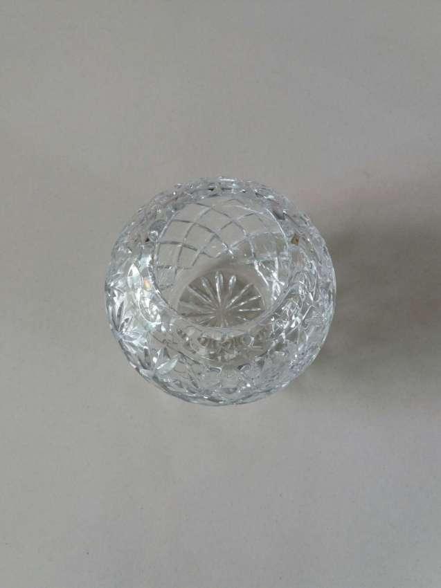 ราคาตก! PRICE DROP! Handmade - Crystal Rose Bowl