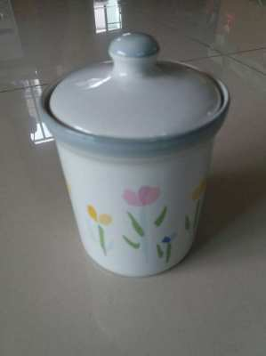 PRICE DROP Studio Nova Ceramic Sugar Canister W Lid