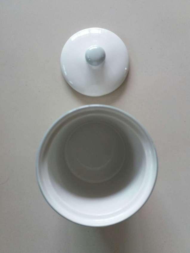 NEW YEAR SALE! PRICE DROP!  Studio Nova Ceramic Sugar Canister W Lid
