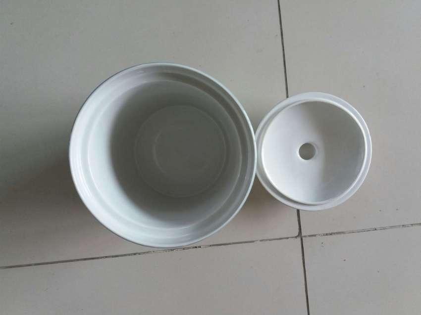 NEW YEAR SALE! PRICE DROP  Studio Nova Ceramic Flour Canister w Lid