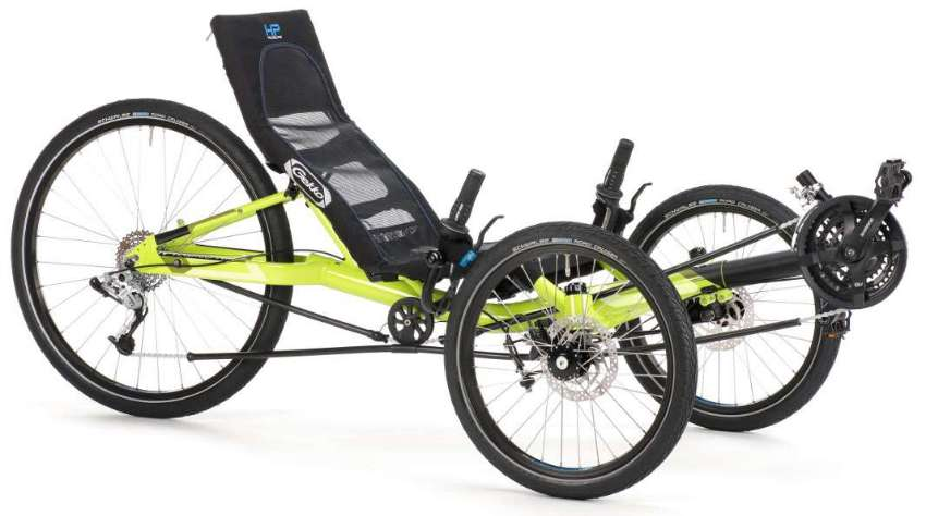 Recumbent trike GEKKO 26 made in Germany. BRAND NEW.