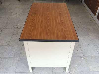 Metal Office Desk 107cm