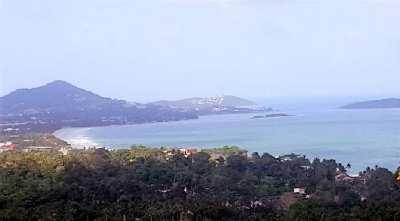 For sale land sea view Chaweng Noi Koh Samui - 1052 m²